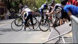 Accident: Carambolage pendant une course cycliste
