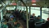 Accident: Un bus percute vue de l'interieur en turquie
